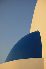 ArchShapes06 (DepictingPhotos) Tags: urban sunrise shapes santorini greece fragments