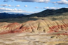 Painted Hills (YuriZhuck) Tags: usa nature oregon landscape fossil us or hill paintedhills johnday