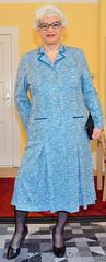 Ingrid022460 (ingrid_bach61) Tags: dress mature kleid pleatedskirt faltenrock
