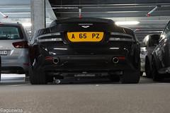 Aston Martin DBS (aguswiss1) Tags: black martin british parked luxury cruiser supercar aston elegance v12 db5 britishcar astonmartindb5 200mph