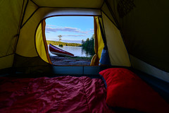 Room with the Best View (Gregory Pleau) Tags: ca camping ontario canada canoe backcountry algonquin canoeing nipissingunorganizedsouthpart nipissingunorganizedsouthpa