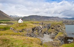 Arnarstapi (geh2012) Tags: sea house clouds sjr arnarstapi snfellsnes hs sk geh gunnareirkurhauksson gunnareirkur