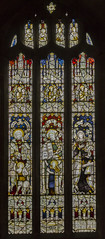 Denton, St Andrew's church, window (Jules & Jenny) Tags: denton stainedglasswindow standrewschurch kempe