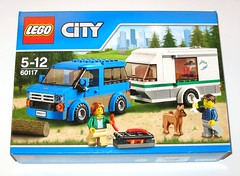 60117 1 lego city van and caravan set 2016 misb a (tjparkside) Tags: city camping 2 camp two dog male set modern female fire 1 pc day pieces traffic lego fig sausage mini bbq figure sausages bone barbeque caravan van camper figures figs 250 minifigure 2016 minifigures misb 60117