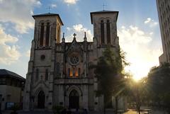 San Fernando Cathedral (jaltmanphoto) Tags: sanfernando sanfernandocathedral cathedral catholic catholicism sanantonio texas lonestar sun sunset city church christian christianity riverwalk