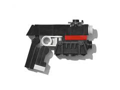 LEGO Judge Dredd Lawgiver (Obedient Machine) Tags: judgedredd lawgiver moc micro mini lego