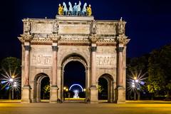 Arc de Triomphe du Carrousel (wiandt.gabor) Tags: arc de triomphe du carrousel paris tuileries garden