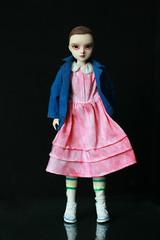 Eleven (Kittytoes) Tags: strangerthings eleven 011 custom doll