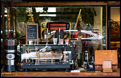 20160812_FridayBItsAndPieces_0006_f (Peter_Gallagher) Tags: malvern shop coffee metal brass copper window reflection