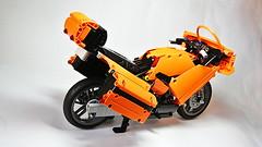 Lego Technic Sport Touring Motorcycle (MOC) (hajdekr) Tags: legotechnic moc sporttouringmotorcycle lego technic motorbike bike vehicle motor threecylinder threecylinderengine engine sport touring motorcycle myowncreation creation design buildingblocks