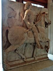 1483-1484 - 'Roberto Malatesta, Signore di Rimini & Cesena (+1482)' (Lombard artist, maybe Eusebio da Caravaggio), Old St. Peter's Basilica, Roma, Muse du Louvre, Paris, France (roelipilami) Tags: 1482 1483 1484 roberto malatesta rimini cesena eusebio da caravaggio basilica di san pietro st peter sint pieter saint pierre rome roma musee museum louvre paris monument statua equestre monumento parijs armor armour armure harnas cheval horse italy renaissance armadura armatura lombardia lombard