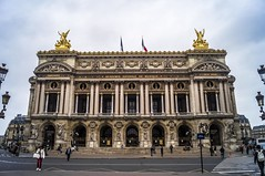 Opera Garnier (Alberto Grau) Tags: paris france building gold opera musica academia garnier francia musique oro academie