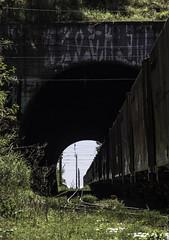 "2253'21.2""S 4708'15.5""W (Fabio_CPS) Tags: railroad railway rust color cam treking outdoor power nature angular street sd70 ac44 ge extreme calor hot sun"