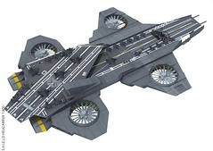 Marvel Comics - S.H.I.E.L.D. Helicarrier Free Paper Model Download (PapercraftSquare) Tags: 1800 helicarrier marvelcomics shield shieldhelicarrier