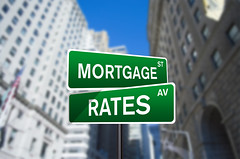 Mortgage Rates Street Sign On Wall Street (investmentzen) Tags: finance finances financial invest investment investing money wallstreet wall street sign mortgage rates real estate loans lending borrowing