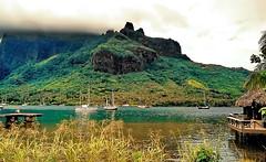 Bora Bora (gerard eder) Tags: world travel reise viajes oceania frenchpolynesia borabora bay bucht bahia