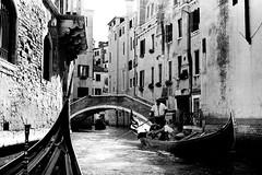 (baroque_nroll) Tags: venice venezia italy gondola gondolier canal people