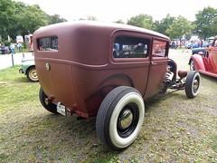 Ford Model A Tudor Sedan (911gt2rs) Tags: treffen meeting hotrod oldtimer v8 braun brown custom matt oldschool