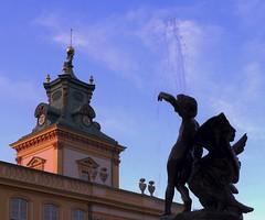 Observer (dochtuir) Tags: wilanw palace baroque barok architecture architektura rzeba sculpture evening wieczr