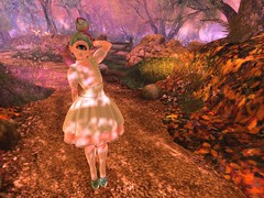 Morning Walk (suzumezuki) Tags: enfersombre analogdog secondlife sl maitreya lara iris tsg sugargarden cyclops epiphany gacha pink green pastels drot spirit owl mignon belleepoque su