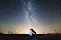 The Milky Way is our home (Anna_L.) Tags: night sky milky way galaxy road sign light pollution stars space