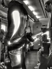 "Not without my Canon (Jackie ""jubercar_78"" Gate) Tags: summerstreetproject2016 streetphotography fotografaurbana blancoynegro monocromtico retrato sombras planonormal planoperfil planoamericano cmarafv5"