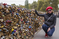 Pont de l'Archevch (Stefan Lambauer) Tags: paris pontdelarchevch stefanlambauer 2016 fr pont ponte brigge paddlelock cadeado lilian woman love france frana city cidade europa