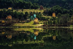 Reflection of parallel Times.. (VarskvlaviTR) Tags: sony zeiss 2470 za2470 lands lake reflection reflectionturk turkey bolu za2470f4 sonyfe2470 sonya7m2