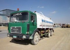 MAN 26-29 Six Wheeler (breedlux) Tags: man watertanker tanker water 6wheeler
