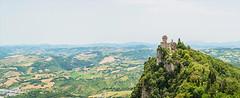 San Marino (aaron.de) Tags: san marino castle landscape