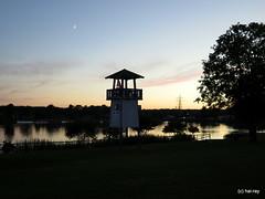 St. Leon Campingplatz (Hai-Ray) Tags: 2016 deutschland germany canon powershot g16 stleon badesee sonnenuntergang suesswasser freshwater lake sundown campingplatz campground