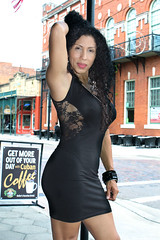 Mas Hermosa Latina (California Will) Tags: model sheer bella blackdress beautiful edna latina beauty hersoma ybor florida fl