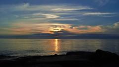 Sunset (BarbaraBonanno BNNRRB) Tags: sunset sun marinadimassa mare sea tramonto scoglieradellamore scogliera dellamore