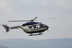 Rettungshubschrauber am Pferdskopf / Wasserkuppe 160814_102 (jimcnb) Tags: 2016 august wasserkuppe rhn hessen hubschrauber polizei helicopter dhheb