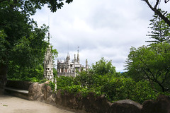 Quinta da Regaleira  (xanocaa) Tags: nature landscape forest garden park trees castle palace mountain travel traveler traveling explore explorer exploring visit visiteurope visitportugal visitsintra traveleurope travelportugal lisbon lisboa sintra quinta da regaleira alexandra fernandes leiria marinha grande portugal esad esadcr caldas rainha canon eos 60d green plants blue sky clouds cloudy white black brown beige grey architecture dream fairyland fairytale amazing view backpacking roadtrip backpacker horizontal color summer spring vacation holiday