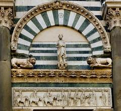 Pistoia - Sant'Andrea (Martin M. Miles) Tags: pistoia santandrea lombard longobard viafrancigena gruamonte adeodatus magi herod adorationofthemagi tuscany toscana toskana italy