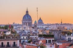 Roma al atardecer / Rome at dusk (Ivan_Sanchez) Tags: rome roma sunset atardecer
