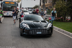 Aston Martin One-77 (Nico K. Photography) Tags: black martin monaco rare aston supercars spotters one77 nicokphotography