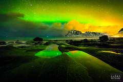 Another world (Lumen Art Images) Tags: norway lights aurora northern lofoten borealis uttakleiv