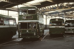 BS1399 LFE140H , NVL448K LINCOLN ST MARKS BUS STATION 19.10.1978 (davruss001) Tags: lincolnshire lincoln 1978 lfe140h nvl448k