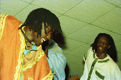 Baaba Maal Senegalese singer and guitarist born in Podor on the Senegal River at the Equator Club Philadelphia April 1994 142 (photographer695) Tags: baaba maal senegalese singer guitarist born podor senegal river equator club philadelphia april 1994