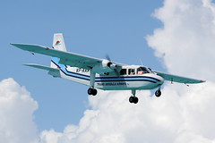 VP-AAA Trans Anguilla Airways BN-2A Islander St Maarten 27/10/2014 (Tu154Dave) Tags: britten norman islander anguilla stmaarten maarten sxm bn2 bn2a21 vpaaa transanguilla