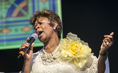 Gospel Soul Of Irma Thomas at Jazz Fest 2015, Day 5, May 1