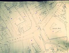 1890 OS map CVI.14.8.  Original in LRO. (philipgmayer) Tags: liverpool map os scala 1000 1890 limestreet futurist