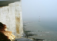 Beachy Head and Lighthouse (Stuart Axe) Tags: uk greatbritain sea england cliff lighthouse sussex coast seaside marine scenery unitedkingdom suicide scenic maritime eastbourne gb coastline eastsussex englishchannel beachyhead trinityhouse suicides suicidespot