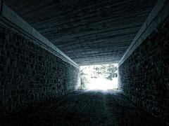into the light (FotoTrenz NRW) Tags: light monochrome dark hell tunnel sw dunkel dunkelheit unterfhrung lichtundschatten schwarzweis
