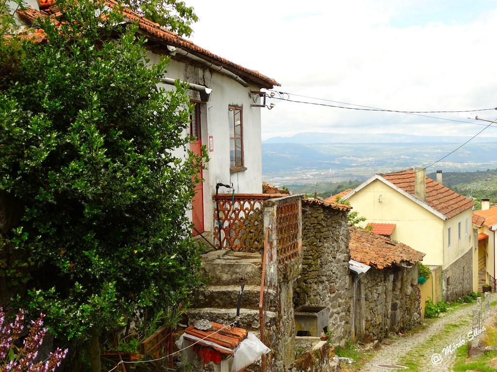 Águas Frias (Chaves) - ... rua Nª Sª dos Prazeres ...