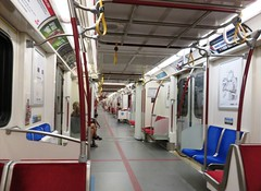 After rush hour on TTC - Subway (Hear and Their) Tags: rogers cup tennis aviva centre center toronto professional ttc subway