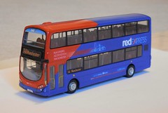 Transdev 3601 (Lancashire31) Tags: transdev 3601 x1 vtd bus double decker manchester accrington blackburn gemini wright volvo b7 lancashire united depot x41 red express blazefield