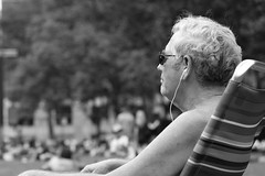L1002973 (kogh65) Tags: new york photography photo travel art 2016 nyc ny street black white leica m mono tone city outdoor life people depth field reportage young kogh candid camera focus pov picture 50mm image manhattan artist kogh65 girl sun park hot tanning bw bryant public sunny blackandwhite monochrome